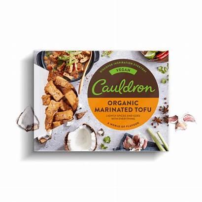 Tofu Marinated Organic Pieces Cauldron