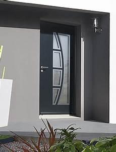 Porte Entrée Aluminium Rénovation : portes d entr e aluminium mat riaux les menuiseries ~ Premium-room.com Idées de Décoration