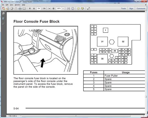2006 Chevrolet Impala Fuse Diagram by 2006 Impala Fuse Box Location Wiring Library