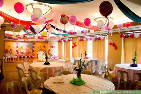 Decorating Ideas With Balloons by How To Decorate With Balloons 9 Steps With Pictures
