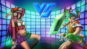Arcade-Riven-VS-Arcade-Miss-Fortune-Background by ...