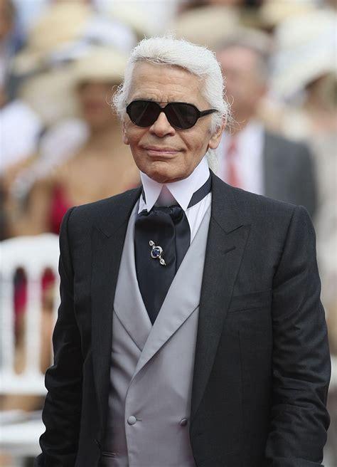 Iconic fashion designer Karl Lagerfeld, longtime creative ...