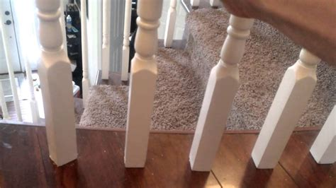 How To Install Banister by Securing Banister Spindles
