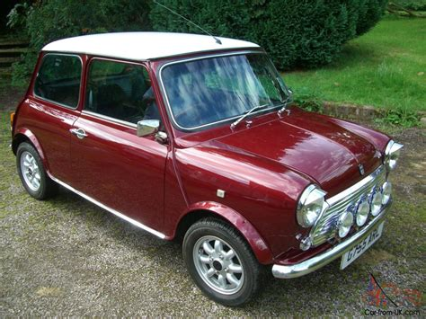 Classic 1989 Austin Mini Thirty 30 Cherry Red. Enthusiast