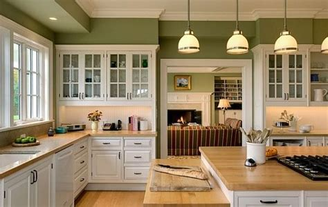 kitchens  white cabinets  green walls review   ideas   partyinstantbiz