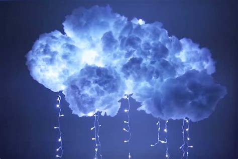 diy cloud light să faci un norișor de lumină pentru copilului