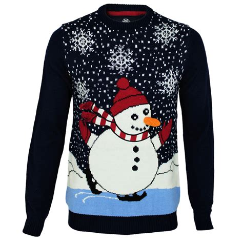 mens threadbare light up novelty jumper 3d