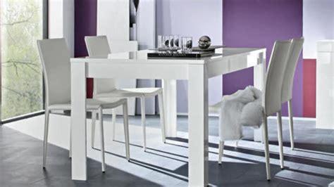 canapé angle moderne table de salle à manger laqué blanc rectangulaire 160 cm