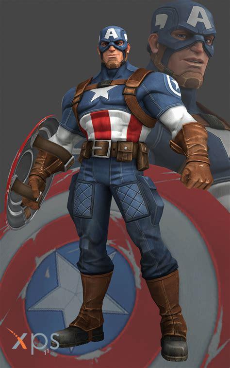 MCoC Captain America (WW2) by thePWA on DeviantArt