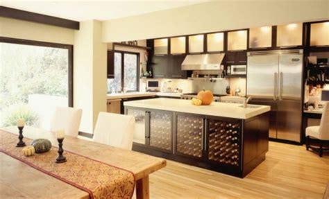 cuisine contemporaine ilot central îlot central cuisine ikea et autres l 39 espace de cuisson