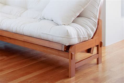 Futon Frame by Most Popular Wood Futon Cypress Wood Futon Frame Oak