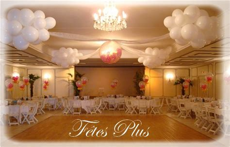 deco salle des fetes pour anniversaire d 233 coration de ballons pour salle des f 234 tes mariage