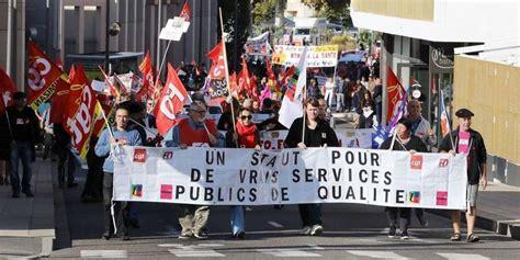 manifestation mont de marsan vid 233 os fonction publique entre 1300 et 1500 manifestants 224 mont de marsan sud ouest fr