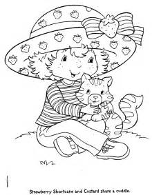 kids n fun com 22 coloring pages of strawberry shortcake
