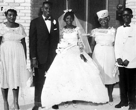 florida memory african american bride and groom