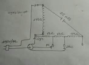 Cbb61 Ceiling Fan Capacitor 4 Wire by Fan Capacitor Wiring Diagram Fan Wiring Diagram Free