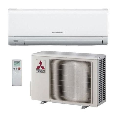 Mitsubishi Ductless Split System Air Conditioner by 9000 Btu Mitsubishi Mr Slim Ductless Split Air Conditioner