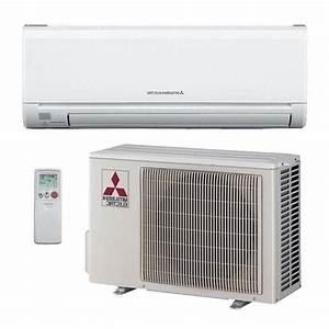 9000 Btu Mitsubishi Mr Slim Ductless Split Air Conditioner