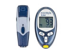 FreeStyle Lite Blood Glucose Meter Lancing Device