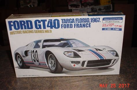 Ford Gt40 Height by Ford Gt40 Mkii Targa Florio 1967 Ford 1 24th Scale