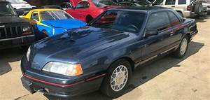 1987 Ford Thunderbird Turbo Coupe Manual Low Miles