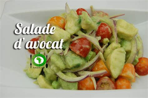 cuisine africaine facile salade d 39 avocats tchop afrik 39 a cuisine