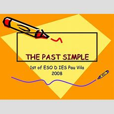The Past Simple Ppt
