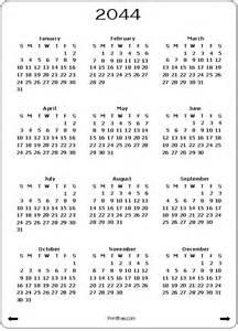 Free Yearly Calendar