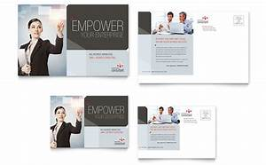 Corporate business postcard template design for Business post card