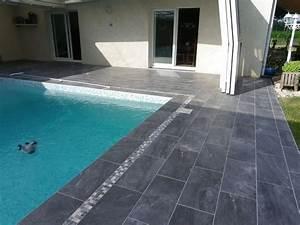 plage piscine carrelage gris carrelage idees de With carrelage plage piscine gris 5 piscine