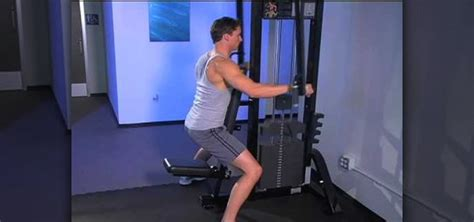 Pec Deck Machine Benefits by How To Work Out Your Shoulders With Fly On A Pec