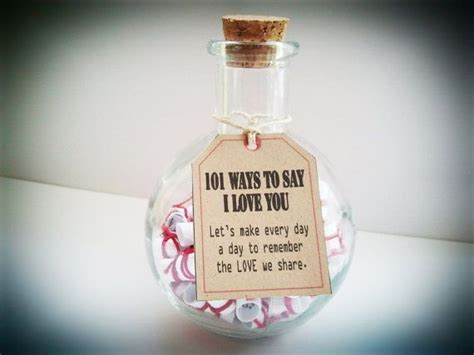 Anniversary Gifts, Gift Of Love. 101 Ways To Say I Love You Unique & Cute Gift For Boyfriend Outdoor Gifts 2018 College Football Player For New Mom Returning To Work From Husband Musical Experience Monthly Club Her Gifted Toddler Language Milestones Fitness Quotes