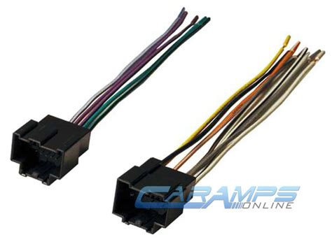 Car Stereo Player Wiring Harness Wire Adapter