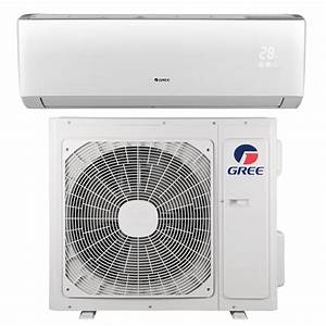 Gree Livo 22000 Btu Ductless Mini Split Air Conditioner With Inverter  Heat And Remote