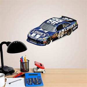 jimmie johnson 48 lowes car 2012 teammate fathead decal With kitchen cabinets lowes with nfl stickers for cars