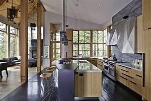 Maison Americaine Interieur : beautiful interieur maison americaine photos amazing ~ Zukunftsfamilie.com Idées de Décoration