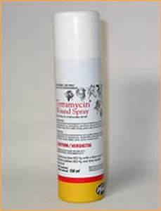 terramycin wound spray