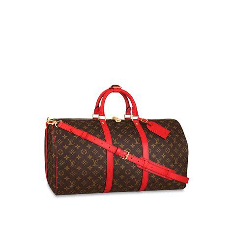 keepall  monogram designer weekend duffle bag  women louis vuitton