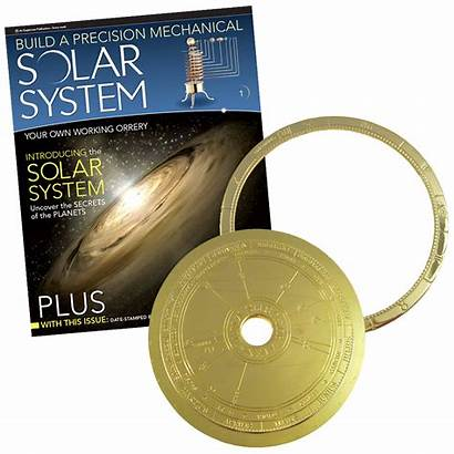 Solar Build Orbiter System Sun Moon Earth