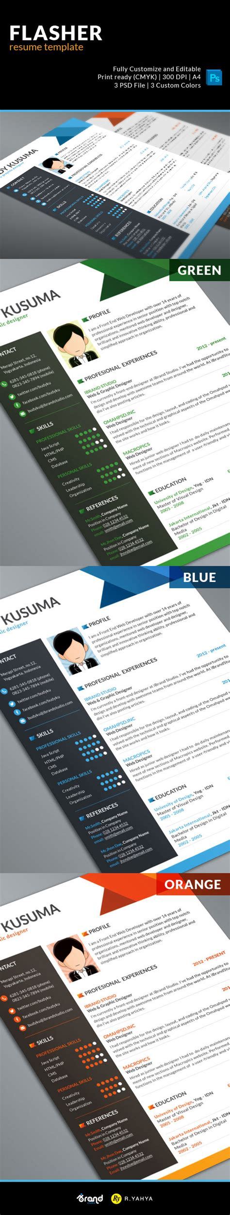 20836 resume templates to free resume template flasher 3 colors psd