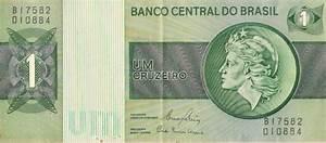 Cédula de 1 Cruzeiro da década de 80 Loja de multiprod