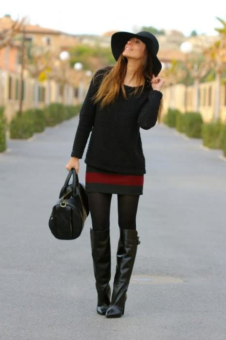 9 Magnificent Styles of Wearing Riding Boots   herinterest.com