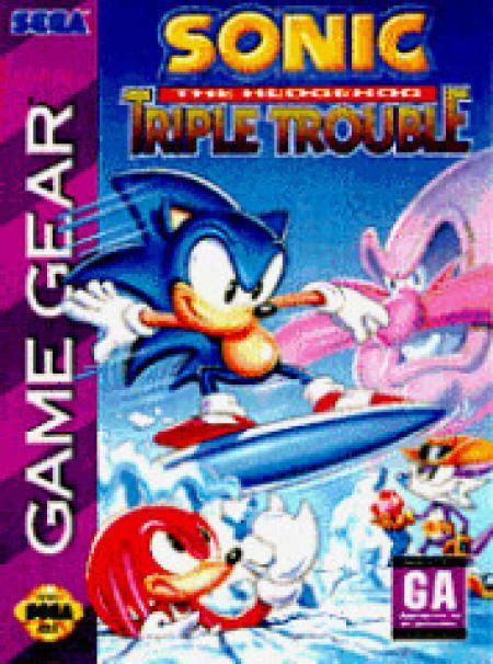 sonic  hedgehog triple trouble  sega game gear