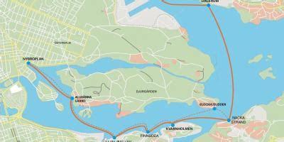 stockholm map maps stockholm soedermanland  uppland