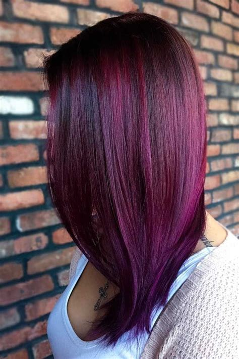 30 Purple Red Hair Is The New Black Plum Hair Red