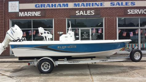 Boats For Sale Graham Nc by 2016 Blue Wave Boats By Parks Mfg Purebay 2000 Cc Graham