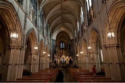 Christ Church Cathedral Dublin Ireland Interior Wikipedia
