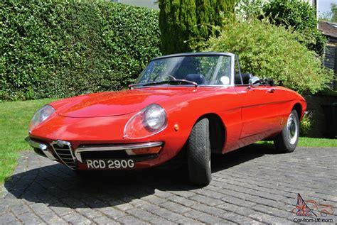 Alfa Romeo Spider Duetto by Alfa Romeo Spider Veloce 1750 Duetto Roundtail