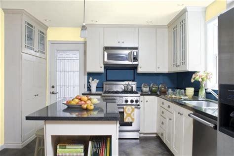 yellow and blue kitchen kitchen ideas