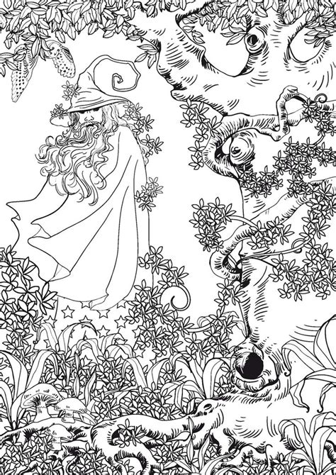 Coloring For Adults by 1090 Best Pagan Coloring Images On